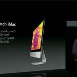 Nieuwe platte iMac fusion drive